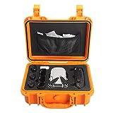 HSKB Bolsa de mano para dron, bolsa de transporte compatible con DJI Mavic Mini Drone portátil, mochila impermeable, maletín de transporte portátil