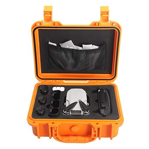 HSKB Drohne Handtasche, Tragetasche Kompatibel mit DJI Mavic Mini Drone Tragbare Drohne Rucksack wasserdichte Tasche Portable Tragekoffer (Gelb)