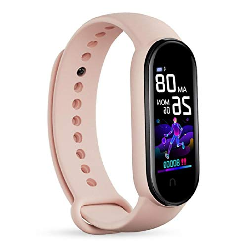 M5 Smart Watch Hombres Mujeres Monitor de Ritmo Cardíaco Presión Arterial Fitness Tracker Sport Smart Pulsera