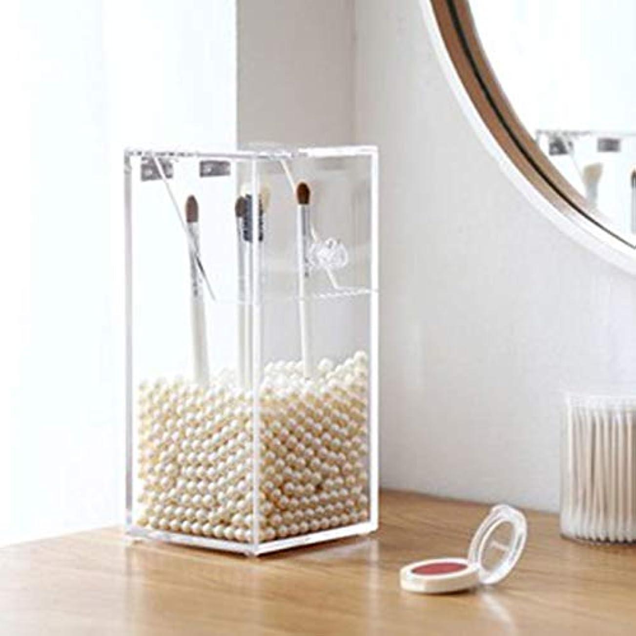 価格スーダン成り立つFantasyRe 高級感 アクリルケース ふた付き 化粧収納ボックス メイクケース コスメ収納ボックス スタンド 引き出し小物/化粧品入れ アクリル製 透明 大容量 ジュエリーボックス