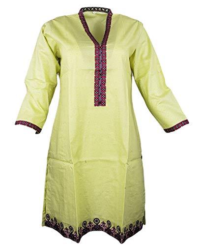 IshDeena Pakistani Cotton Kurtis fo…