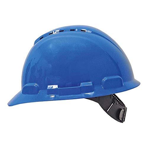 3M Casco con ventilación y arnés estandar Azul (1 casco/bolsa), H700