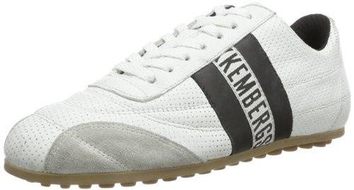 Bikkembergs 640979 640979 Unisex-Erwachsene Sneaker, Weiß (weiß und schwarz), EU 40