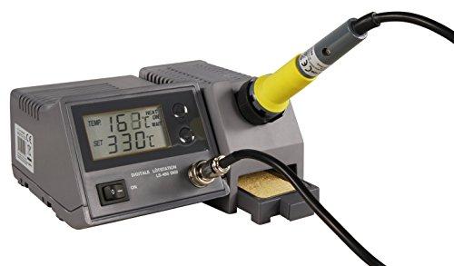 MC POWER - digitale Lötstation | LS-450 digi | 230V / 50 Hz, 48W-Lötkolben | für Hobby und Beruf | gradgenaues Löten für Elektronik und Bauteile