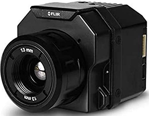 FLIR 436-0020-00S Vue Pro R Radiometric Drone Thermal Camera for Drones, 336x256 Sensor Resolution, 9Hz Full Frame Rates, 9mm/35°x27° Lens Options, 7.5–13.5m Spectral Band