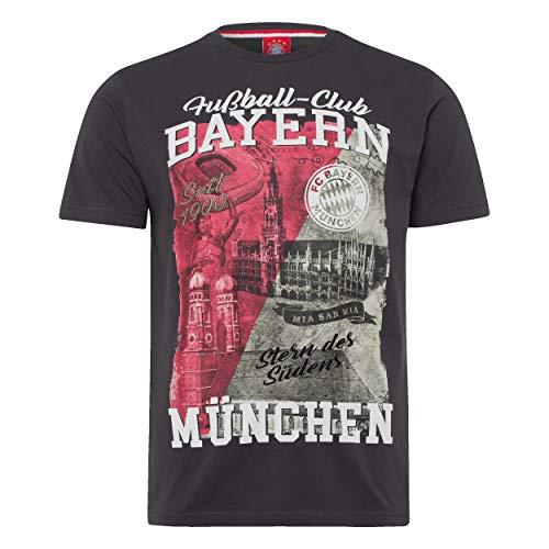 FC Bayern München Heimat T-Shirt (L, schwarz)