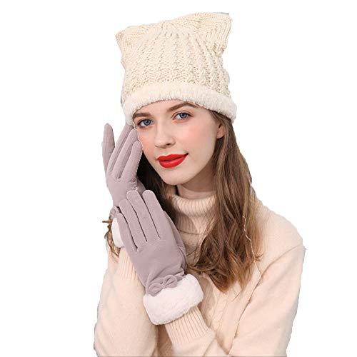 Sombreros para mujer, estilo occidental, hermosos, para Navidad, invierno, moda, moda, para todo tipo de partidos, suaves, cómodos, dulces y lindos sombreros de punto, regalos de cumpleaños de Navidad