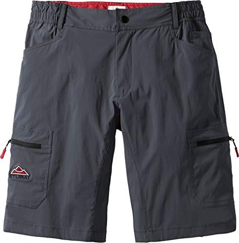 Stubai Herren Funktionsshorts in Anthrazit, sportliche Shorts für Männer, Kurze Outdoor-Hose, Bermuda, Freizeithose, Herrenbekleidung, Gr. 48-60