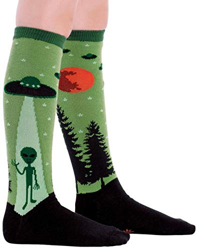 Sock It To Me I Believe In Aliens Junior Knee High Socks