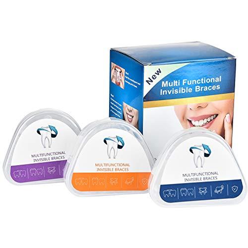 HANQ Gerät für kieferorthopädische Zahnspangen, Professionelles Transparentes kieferorthopädisches Gerät für weichen und harten Mundschutz (3 Stufen, geeignet für Verschiedene Zahnbedingungen)
