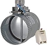 Suncourt ZoneMaster Motorized Airflow Control Damper, Open (or Close depending), 6'