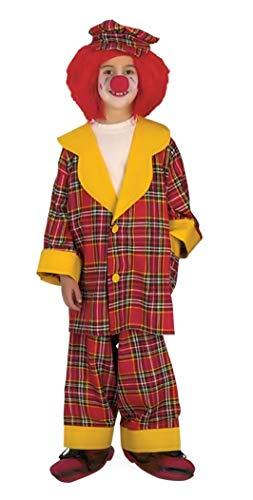 Maat 152-14 - 16 jaar - kostuum van uitstekende kwaliteit - clown - kind - vermomming - carnaval - halloween clown cosplay