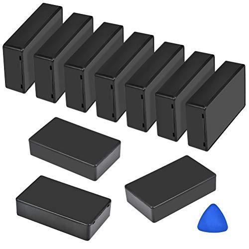 Boîtes de Jonction 10PCS Coffret Electrique Boitier Électronique Boîtier de Câblage Boîte de Raccordement pour Boîtier Électrique pour Bricolage Électronique, 10x6x2,5cm, Boîte de Connexion de Câblage