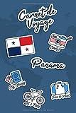 Carnet de Voyage Panama: Journal de Voyage | 106 pages, 15,24 cm x 22,86 cm | Pour vous accompagner durant votre séjour
