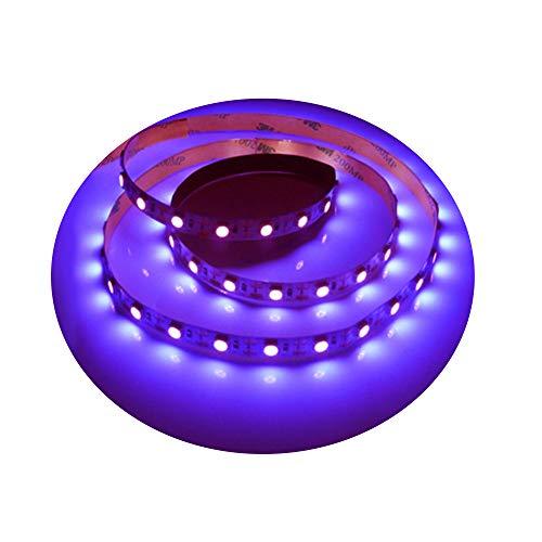 jianji Striscia LED disinfezione UV 0,5 m / 1 m, lampada germicida UV, 3 W, 5 V, per auto/casa