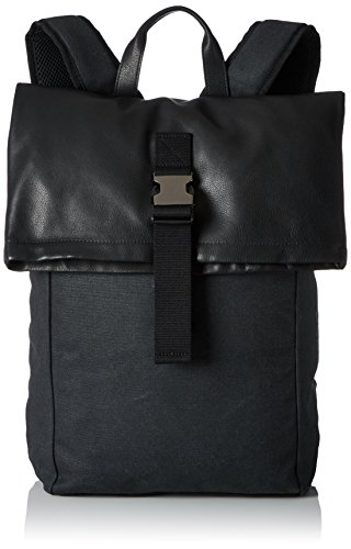 BREE Unisex-Erwachsene PNCH 93 Rucksack, Mehrfarbig (Anthra/Black/Flap), 46x12x41 cm