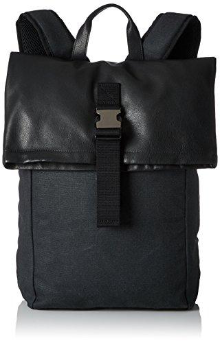 BREE Collection Unisex-Erwachsene Punch Casual 93 Rucksack, Mehrfarbig (Anthra/Black/Flap), 46x12x41 cm