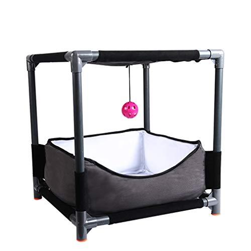 Animal Haustier-Bett-Minizelt-weicher Stoff-tragbarer faltender Zaun, Innen- / Gebrauch-Haustier-Hundehütte