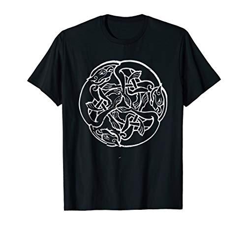 Celtic Knot Hound Shirt Celtic dog Tattoo T-Shirt