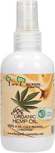Biopark Cosmetics Organic Hemp Seed Oil Huile de graines 100 ml