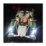 LAIQIAN Juego de iluminación led para Modelo de Coche de Carreras de Larga Distancia Technic, Compatible con Bloques de iluminación Lego 42039 y 20003 - sin Juego Lego