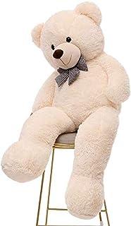 DAYONG 160CM Giant Huge Cuddly Stuffed Animal Plush Teddy Bear for Kids (White)