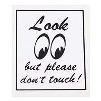 ムーンアイズ(MOONEYES) Look Don't Touch ステッカー DM-132