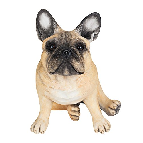 Chapman Sculptures French Bulldog Hand Painted Statue 5.7' (Fawn)