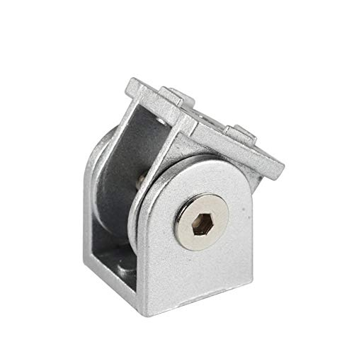 STEWYR 3D Printer Part Aluminum Angle Connector Adjustable Hinge Compatible With V-Slot C-Beam