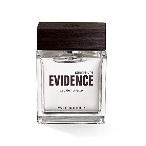 Yves Rocher COMME UNE EVIDENCE Homme Eau de Toilette, Parfüm für Herren, holzig & würziger Duft, Valentinstag Geschenkidee für Männer, 1 x Zerstäuber 50 ml
