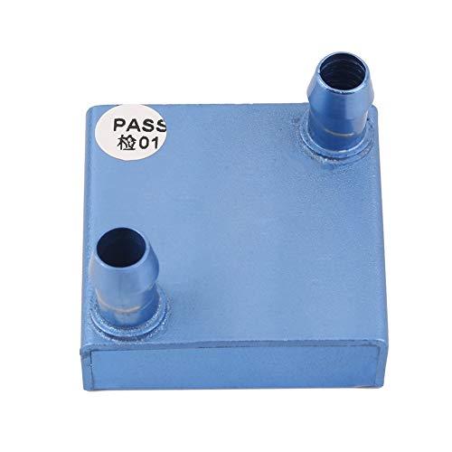 N/V portátil 40 x 40 x 12 mm bloque de refrigeración por agua para PC portátil aluminio enfriador de agua para CPU Gpu sistema de disipador de calor universal