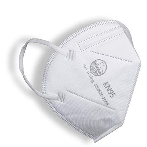 10 Pack KN95 FDA EUA Approved List Non-NIOSH Respirator 5-Ply Layer GB2626-2006