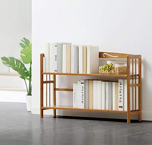 Eenvoudige Rekken Plank Tafel Multi-Layer Landing Bamboe Children's Boekenkast Student Boekenkast Plank Opslagrek 90Cm Breed, BGJ 50cm