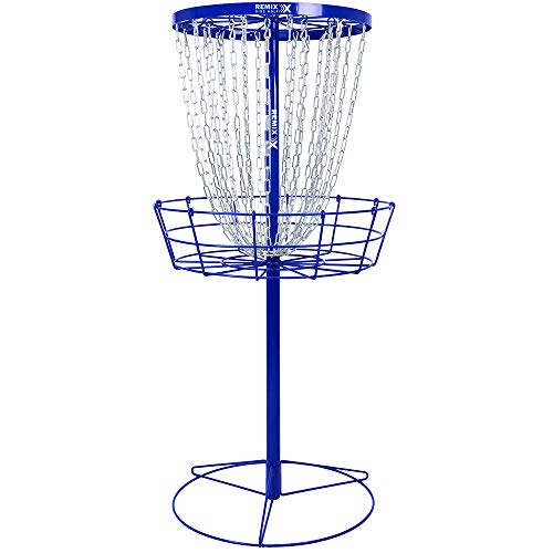 professional Deluxe Disc Golf Training Basket Remix