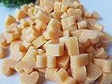 Florex Schafmilchseife mini mini Herz 50 Stück ZIRBE - ORANGE-BRAUN Seife Gastgeschenk