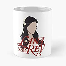Lana Del Rey Lust For Life Tumblr Silhouette - Best Gift Coffee Mugs Unique Ceramic Novelty Cup