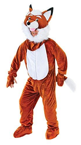 Bristol Novelty AC452 Costume de Mr Fox Grande tête