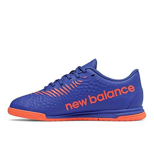 New Balance Boy's Tekela Magique V3 Indoor Soccer Shoe, Cobalt, 12.5 Little Kid
