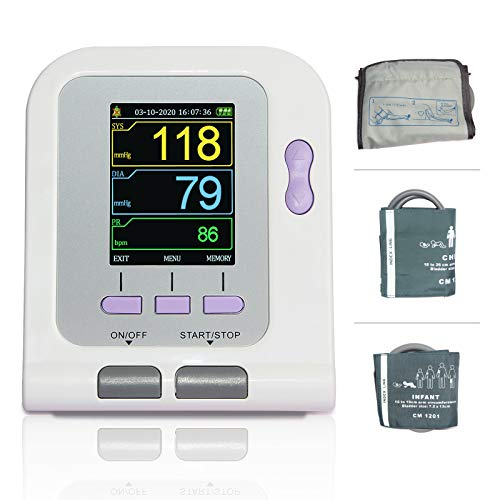 Fully Automatic Upper Arm Blood Pressure Monitor 3 Mode 3 Cuffs Electronic Sphygmomanometer …