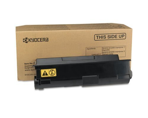Kyocera 1T02LZ0US0 Model TK-172 Black Toner Cartridge, Compatible with ECOSYS P2135d, ECOSYS P2135dn, FS-1320D and FS-1370DN Printers; Up to 7200 Pages Yield