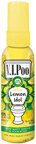 Air Wick VIPoo - Spray prepoo (55 ml), color limón