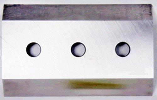"""PK Brush chipper knives brush Bandit Knife 250, 254, CK900-9901-18 7-1/4"""" x 4-1/2"""" x 1/2"""", 5/8"""" holes"""