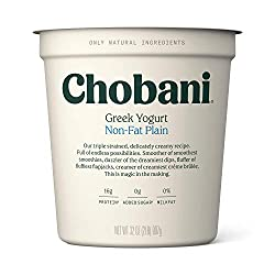 Chobani Non-fat Greek Yogurt, Plain 32oz