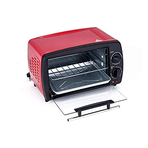 Horno Tostador 900W 220V Mini Horno eléctrico Multifuncional para el hogar Cocina/Temperatura Ajustable/Función de Temporizador/Accesorios incluidos/Freidora de Aire de Varias capacidades