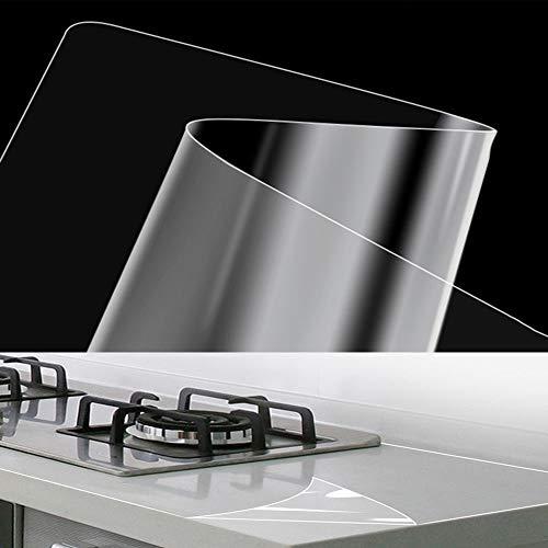Película Protectora Transparente para Encimeras De Cocina con Película Antibacteriana, Película para Muebles A Prueba De Aceite, Impermeable,60x300cm