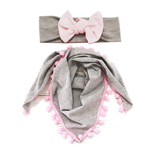 JOYKK 2 Stuks/set Kinderen Luipaard Boog Haarband Speeksel Handdoek Set Baby Hoofddeksels Hoofdtooi Fotografie Prop Haardecoratie - 2#