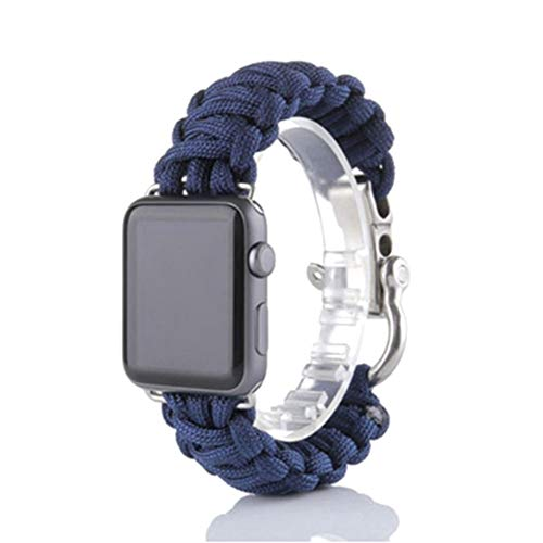 vaMtWYiD - Cinturino di Sopravvivenza per Apple Watch, in Paracord, in Nylon 2