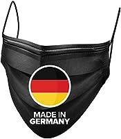 BEMS MEISTERWERK 50x Medizinischer OP Masken Mundschutz schwarz Made in Germany – TYP IIR Premium Einwegmasken (CE...