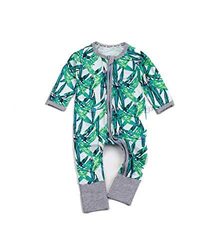 Leuke pasgeborenen baby onesies lange mouwen kostuum crawling bodysuit baby bamboe fotografie accessoires L Hawaii