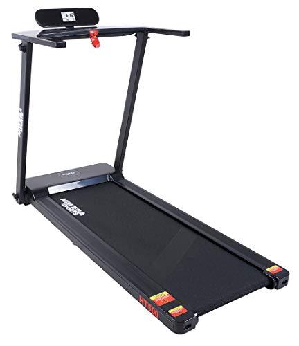 Miweba Sports elektrisches Laufband HT500 – Klappbar – 0,75 Ps – 14 Km/h – 12 Laufprogramme – Tablet Halterung – Große Lauffläche - 9